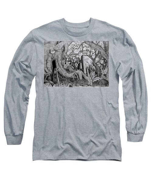in my garden II Long Sleeve T-Shirt