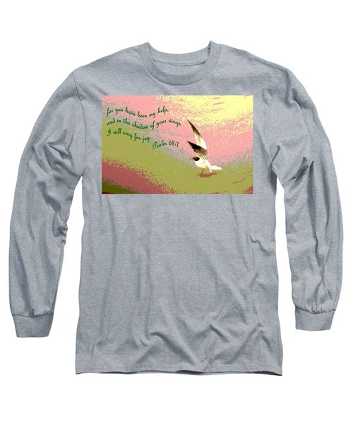 In The Shadow Of Your Wings Long Sleeve T-Shirt