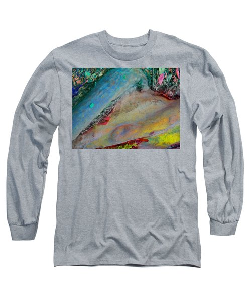 Long Sleeve T-Shirt featuring the digital art Inner Peace by Richard Laeton