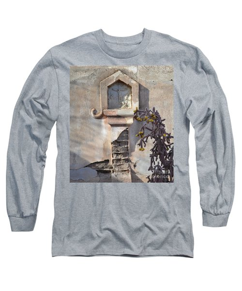 Long Sleeve T-Shirt featuring the photograph Jesus Image by Rebecca Margraf