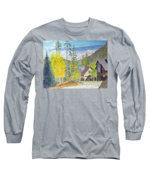 Long Sleeve T-Shirt featuring the painting Keystone Co by Carol Flagg