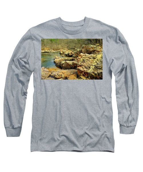 Long Sleeve T-Shirt featuring the photograph Klepzig Shut In by Marty Koch