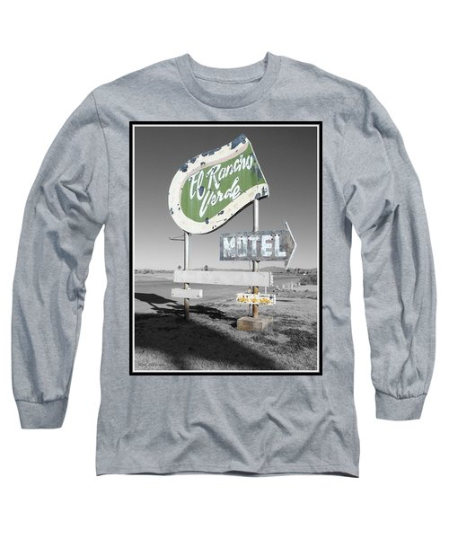 Last Chance Motel Long Sleeve T-Shirt