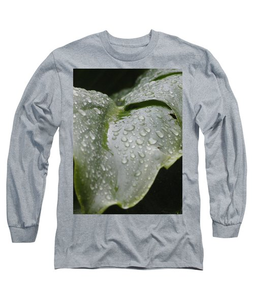 Long Sleeve T-Shirt featuring the photograph Leafy Greens by Tiffany Erdman