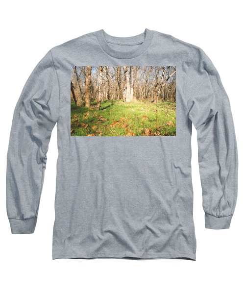 Leaves In The Fall Long Sleeve T-Shirt