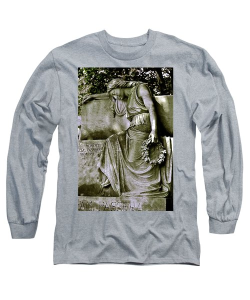 Left In Peace Long Sleeve T-Shirt by Valerie Rosen