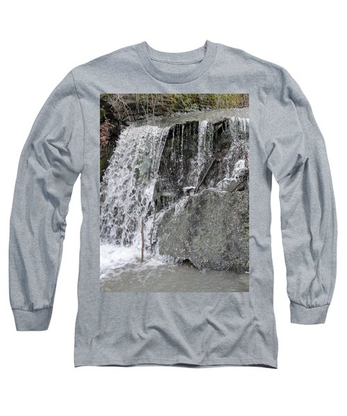 Long Sleeve T-Shirt featuring the photograph Let It Flow by Tiffany Erdman