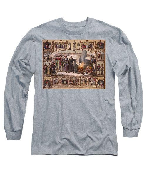 Life Of Martin Luther And Heroes Long Sleeve T-Shirt