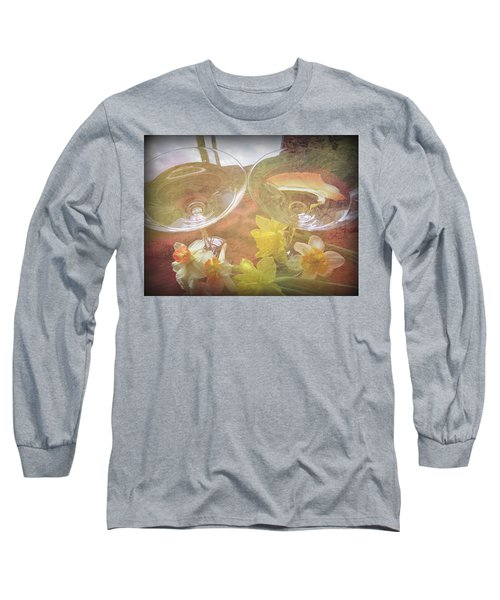 Long Sleeve T-Shirt featuring the photograph Life's Simple Pleasures by Kay Novy