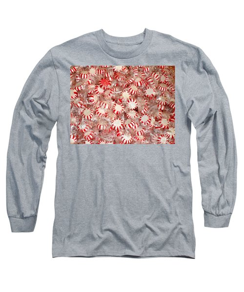 Long Sleeve T-Shirt featuring the photograph Fun  Mints by Beth Saffer