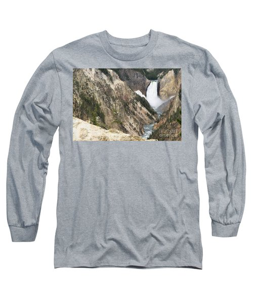 Lower Falls Another View Long Sleeve T-Shirt by Living Color Photography Lorraine Lynch