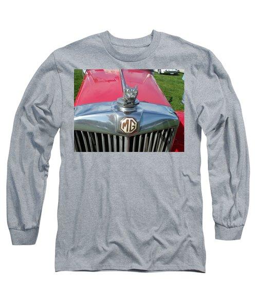 Long Sleeve T-Shirt featuring the photograph M G Hood 1 by Anna Ruzsan