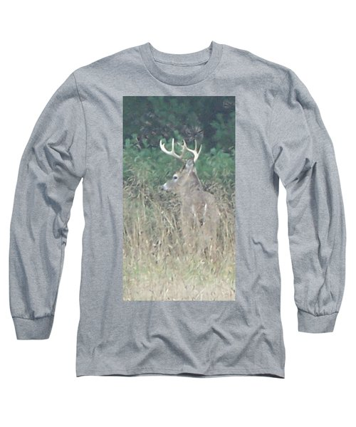 Majestic Buck Long Sleeve T-Shirt