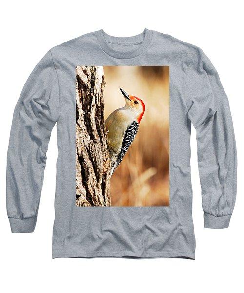 Male Red-bellied Woodpecker 3 Long Sleeve T-Shirt