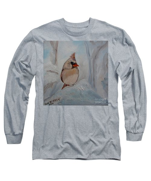 Long Sleeve T-Shirt featuring the painting Mama's On Her Way Home by Julie Brugh Riffey