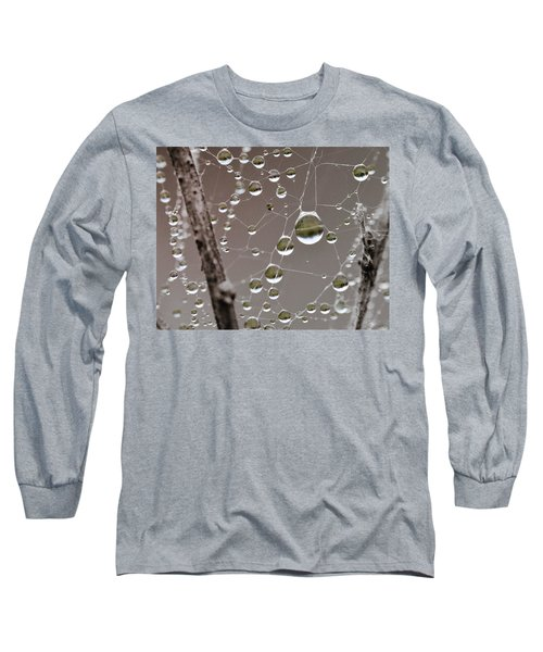 Many Worlds In One Small Space Long Sleeve T-Shirt by Susan Capuano
