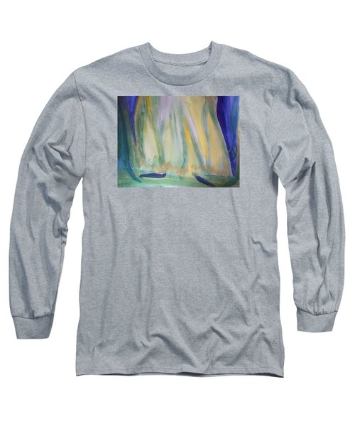 Medieval Dance Long Sleeve T-Shirt by Judith Desrosiers