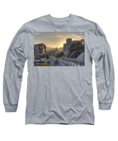 Meeting Bridges Long Sleeve T-Shirt