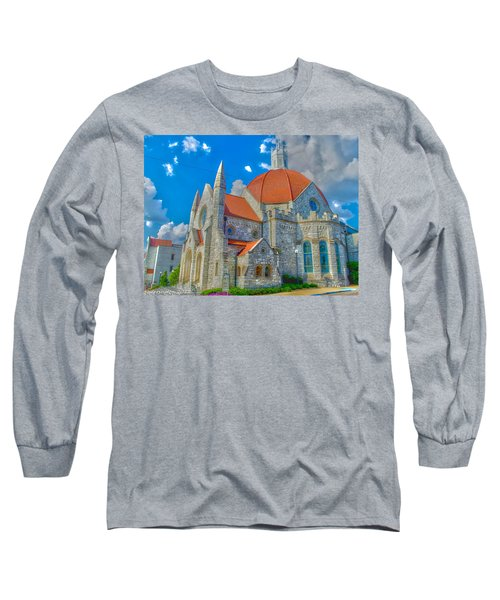 Montgomery Baptist Church Hdr Long Sleeve T-Shirt
