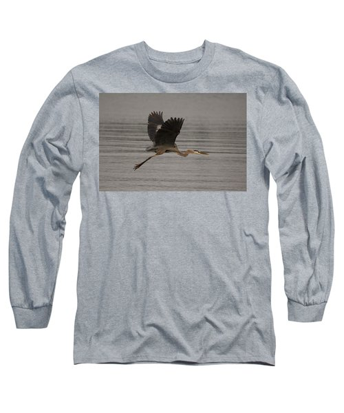 Morning Flight Long Sleeve T-Shirt by Eunice Gibb