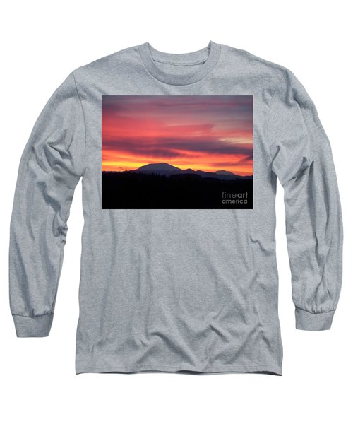 Long Sleeve T-Shirt featuring the photograph Morning Glow by Chalet Roome-Rigdon