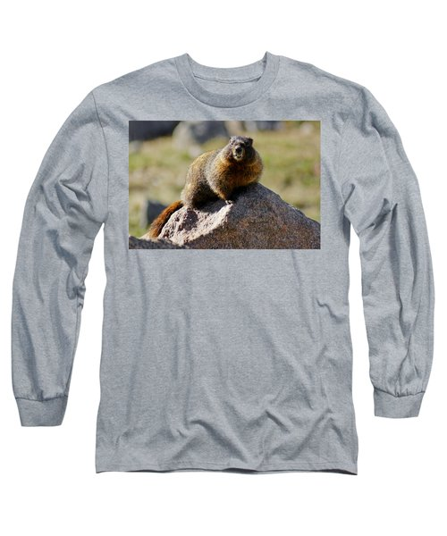 Morning Marmot Long Sleeve T-Shirt