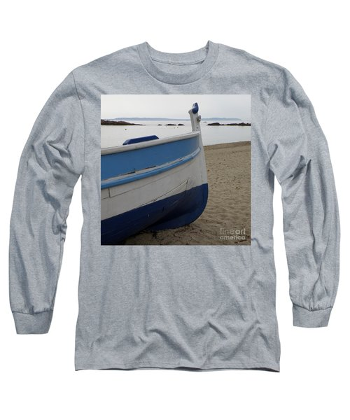 Long Sleeve T-Shirt featuring the photograph Morning Seascape by Lainie Wrightson
