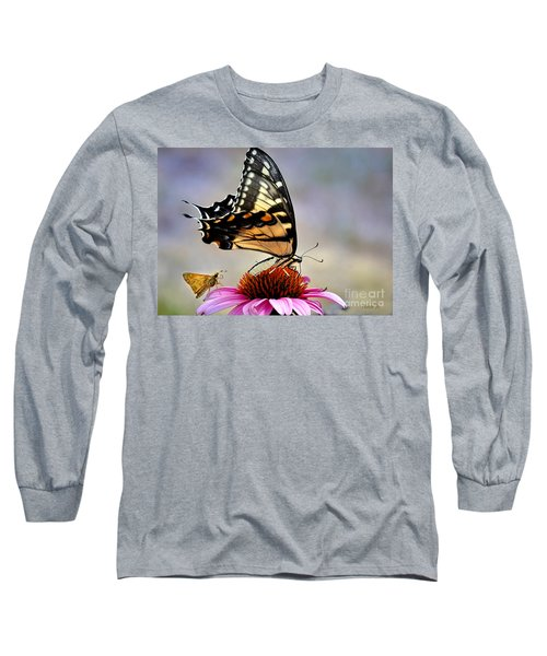 Long Sleeve T-Shirt featuring the photograph Morning Snack by Nava Thompson