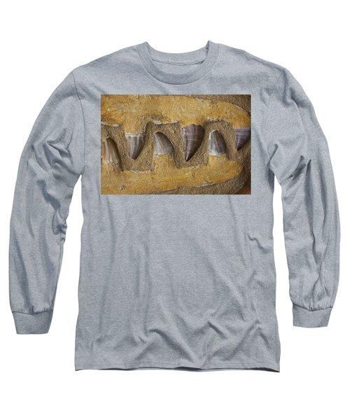Mosasauras Teeth Long Sleeve T-Shirt