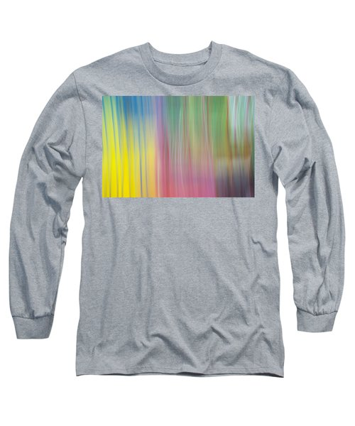 Moving Colors Long Sleeve T-Shirt by Susan Stone