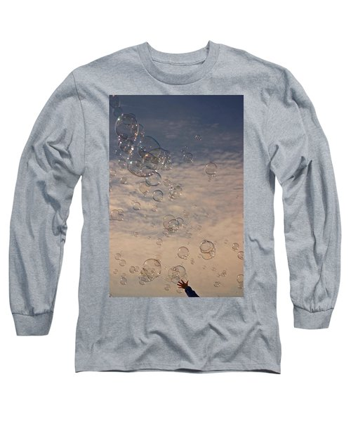 Long Sleeve T-Shirt featuring the photograph Never Give Up by Jeannette Hunt