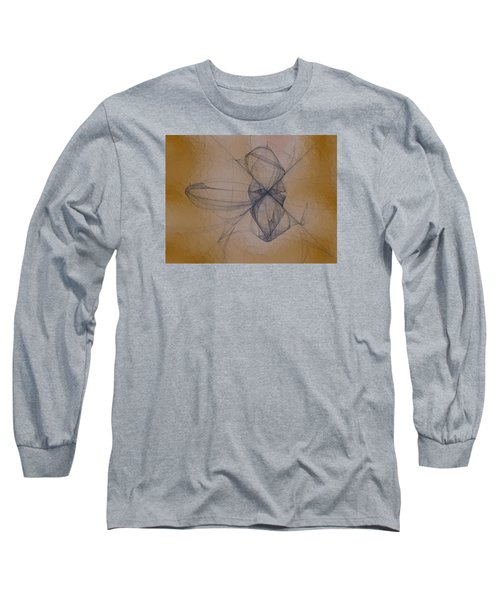 Long Sleeve T-Shirt featuring the digital art Nuoretta by Jeff Iverson