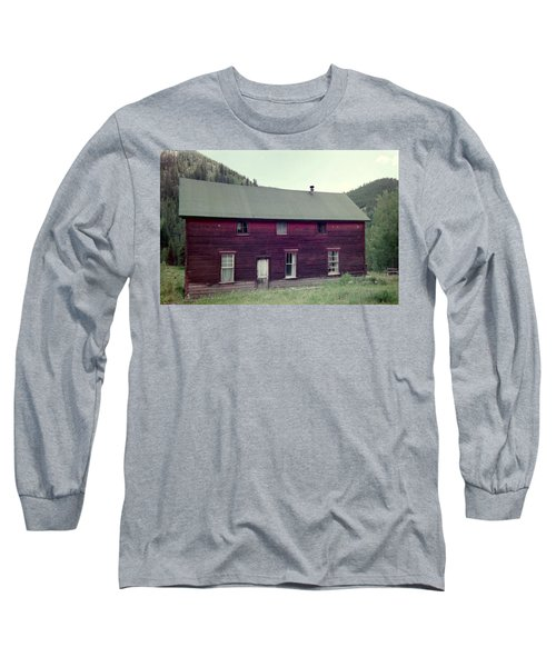 Long Sleeve T-Shirt featuring the photograph Old Hotel by Bonfire Photography