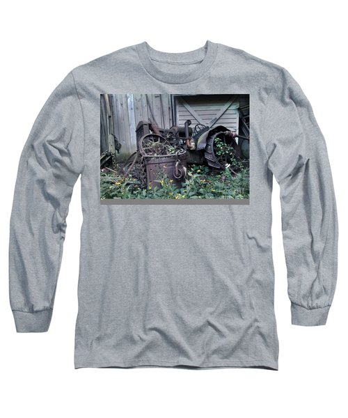 Long Sleeve T-Shirt featuring the photograph Older Days by Janice Spivey