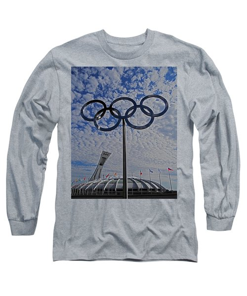 Olympic Stadium Montreal Long Sleeve T-Shirt