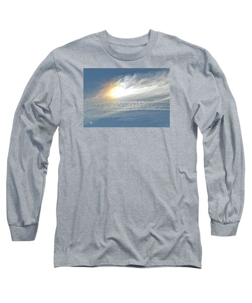 On High Long Sleeve T-Shirt by Barbara Middleton