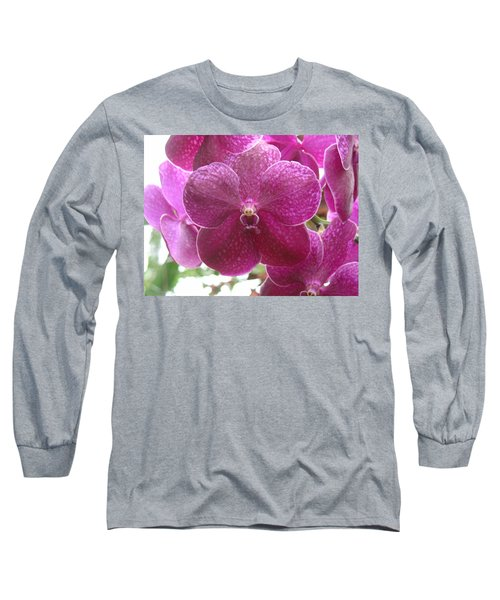 Orchid Cluster Long Sleeve T-Shirt