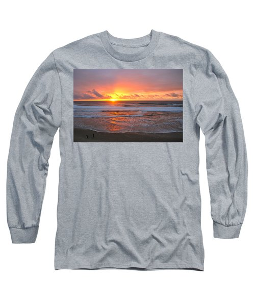 Pacific Sunset Long Sleeve T-Shirt by Eric Tressler