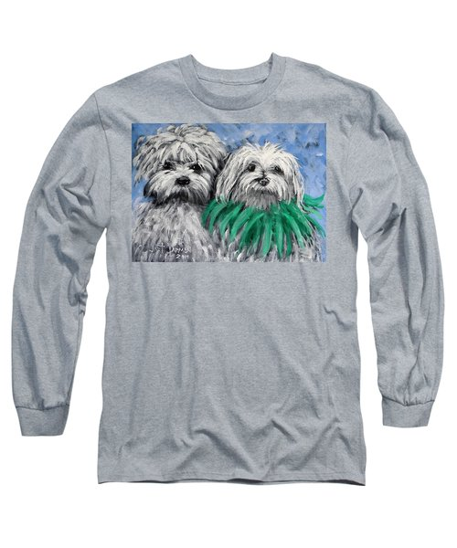 Parade Pups Long Sleeve T-Shirt by Jeanette Jarmon