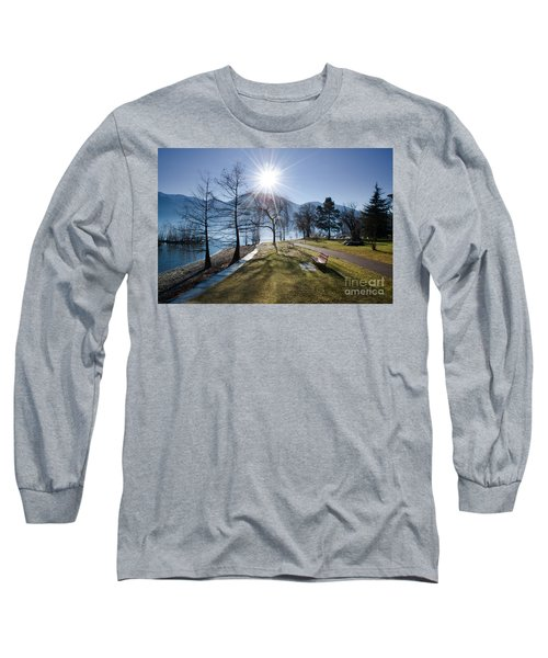 Park On The Lakefront Long Sleeve T-Shirt