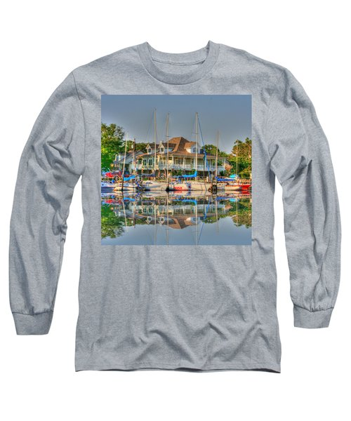Pascagoula Boat Harbor Long Sleeve T-Shirt