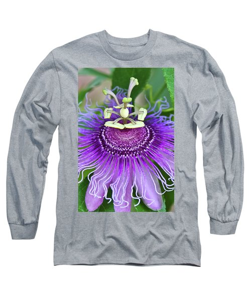 Long Sleeve T-Shirt featuring the photograph Passion Flower by Albert Seger
