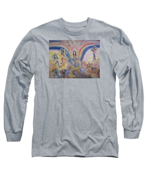 Persian Fairy Entrance Long Sleeve T-Shirt by Judith Desrosiers