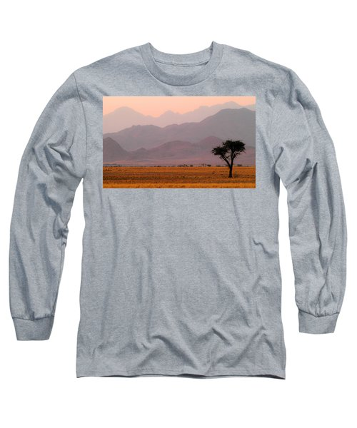 Plain Tree Long Sleeve T-Shirt