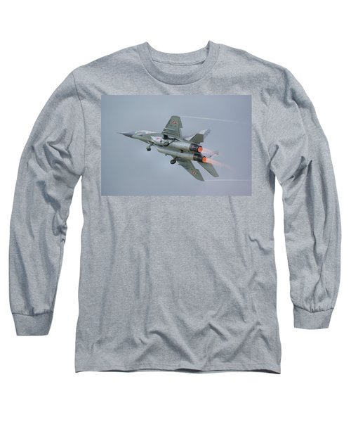 Polish Air Force Mig-29 Long Sleeve T-Shirt