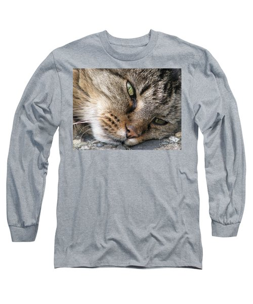 Pondering Long Sleeve T-Shirt by Rory Sagner