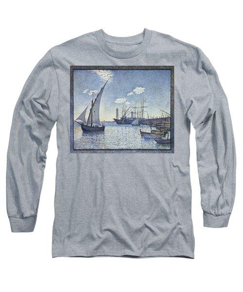 Porte De Cette Les Tartanes Long Sleeve T-Shirt