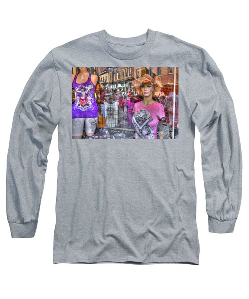 Pretty Pink And Dangerous Long Sleeve T-Shirt