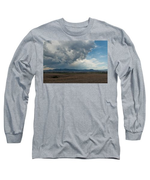 Long Sleeve T-Shirt featuring the photograph Promises Of Rain by Fran Riley