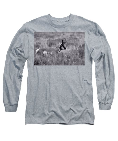 Long Sleeve T-Shirt featuring the photograph Pronghorn  by Eric Tressler